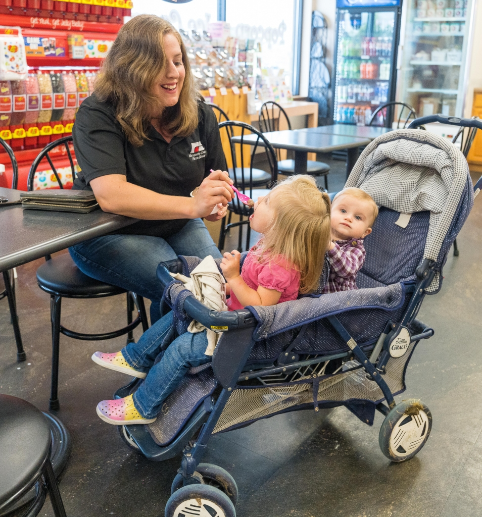 The Marquette County Farm Bureau hosted a great ice cream promotion from noon to 6 p.m. last Saturday, September 4th, at the Montello Candy Store and...